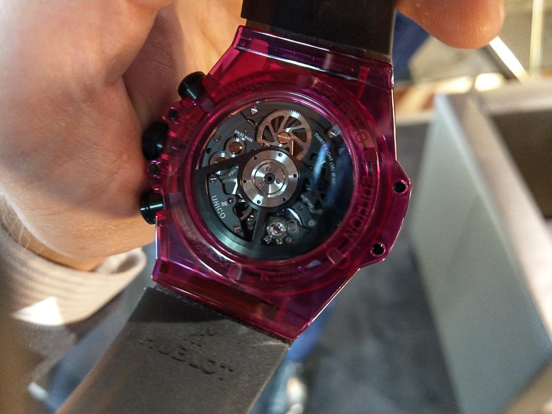 rødt ur