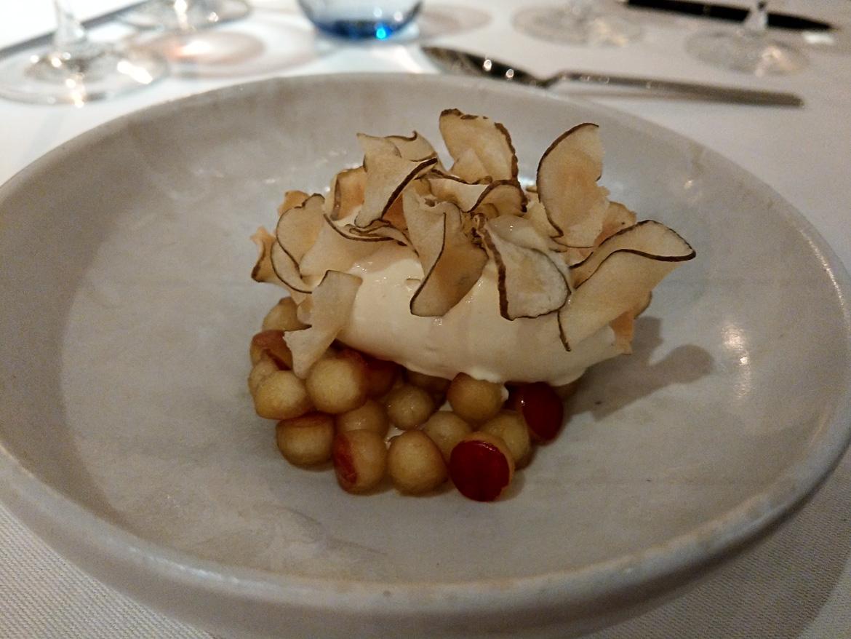 dessert med æbler