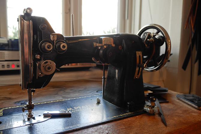 Old school symaskine