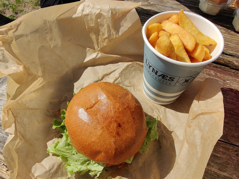 burger Lynæs Surfcenter