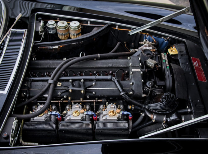 Maserati Mistral engine