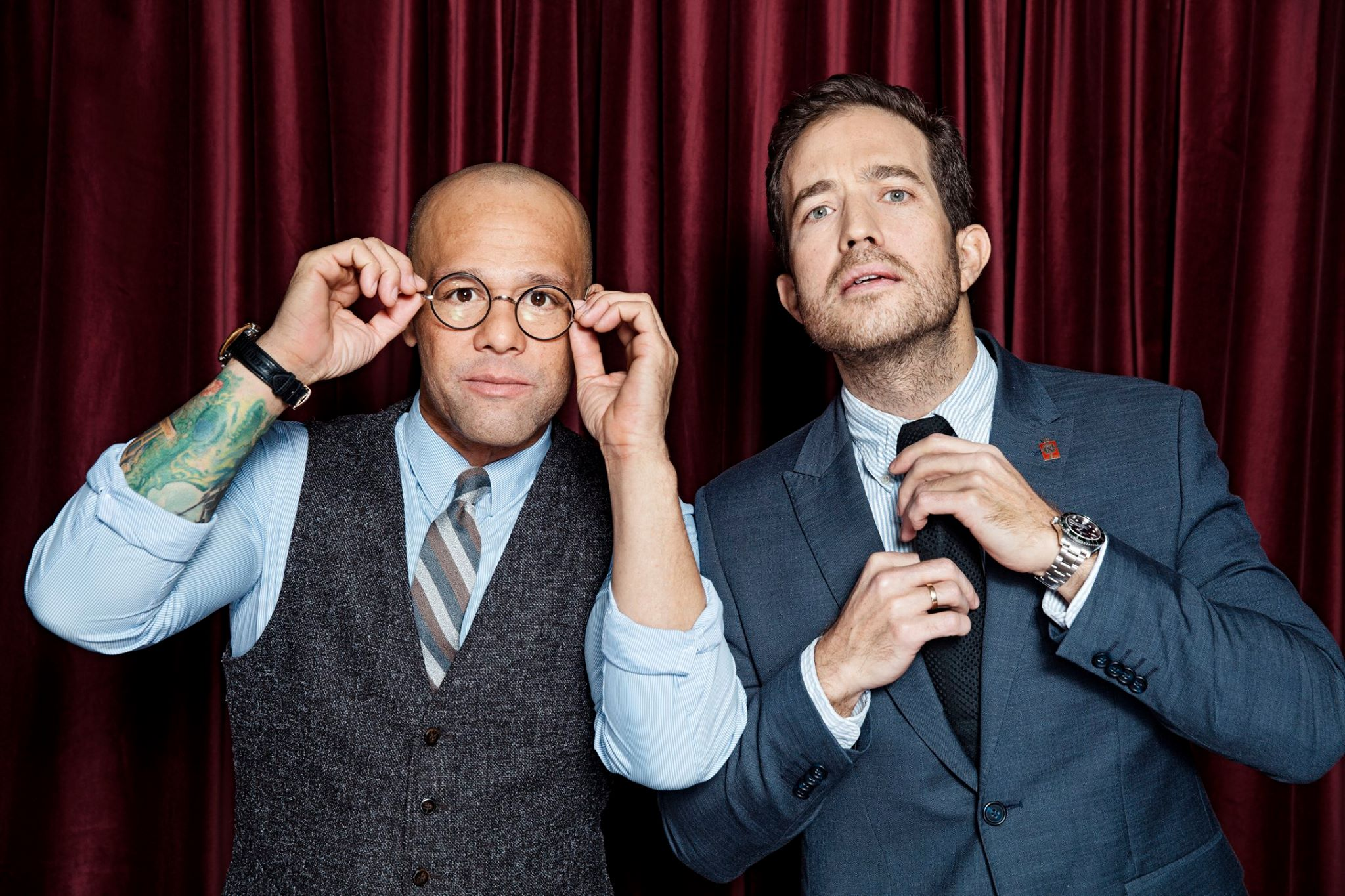 mænd med slips radio 100