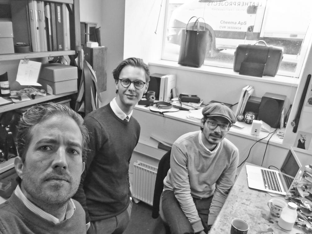 Det er os, der taler. Nicolai Klingenberg, Jeppe Bentzen og Jeppe Dencker