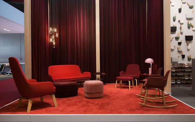 Det røde hjørne - og den flotte Era sofa i baggrunden