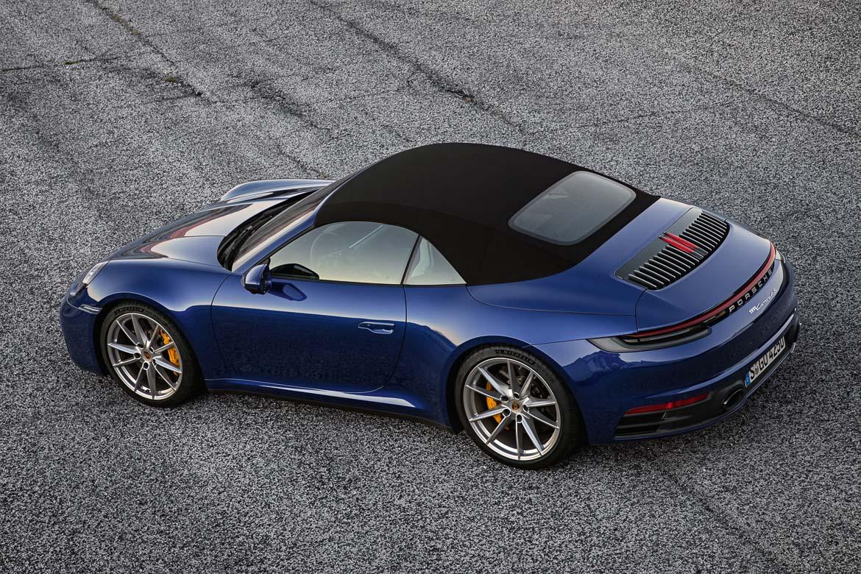 Ny Porsche 911 Cabriolet