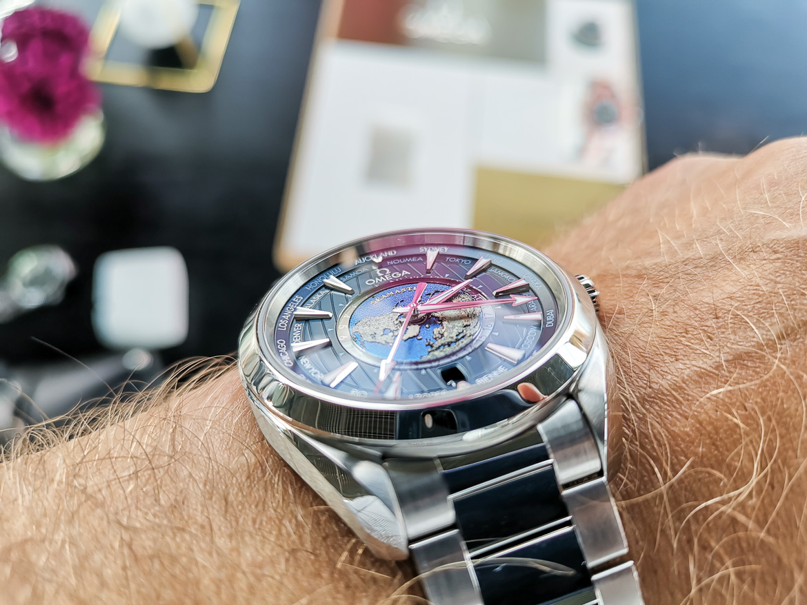 Omega worldtimer steel