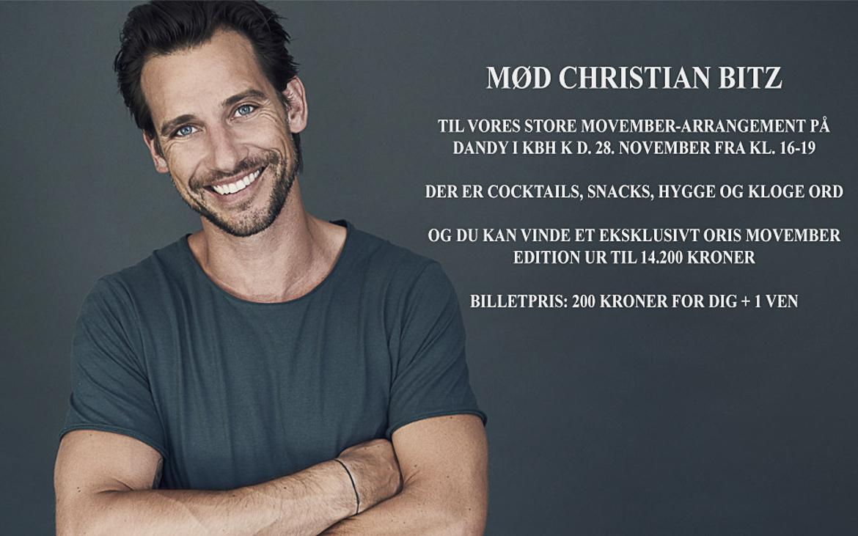 Christian Bitz Oris Movember 2018