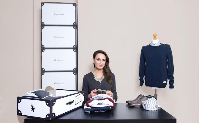 En blandt talrige hjælpere hos Outfittery