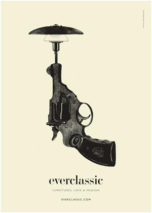 En af de opmærksomhedsskabende plakater
