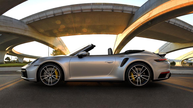 Ny Porsche 911 Turbo S cabriolet