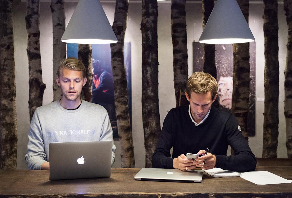 To mænd og et godt koncept: Gotipster