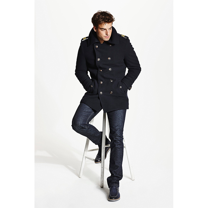 Det er denne jakke, det handler om...