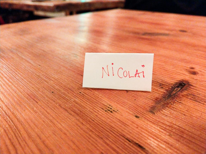 Nicolai