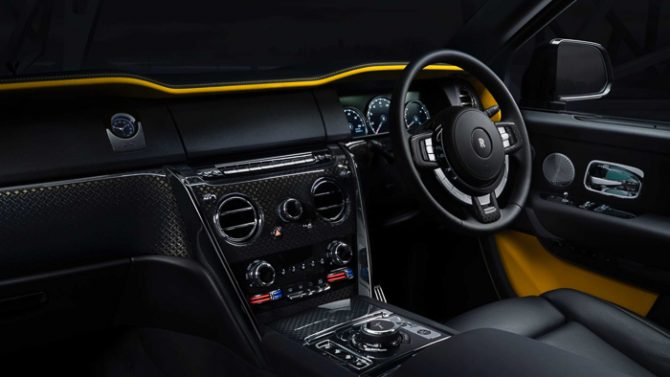 Rolls-Royce Cullinan Black