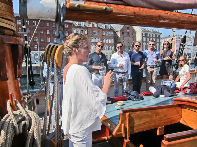 Nicoline er KRUG repræsentant i Danmark og den rare initiativtager
