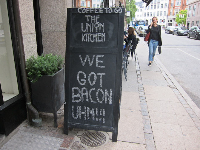 Look you guys - they have bacon!