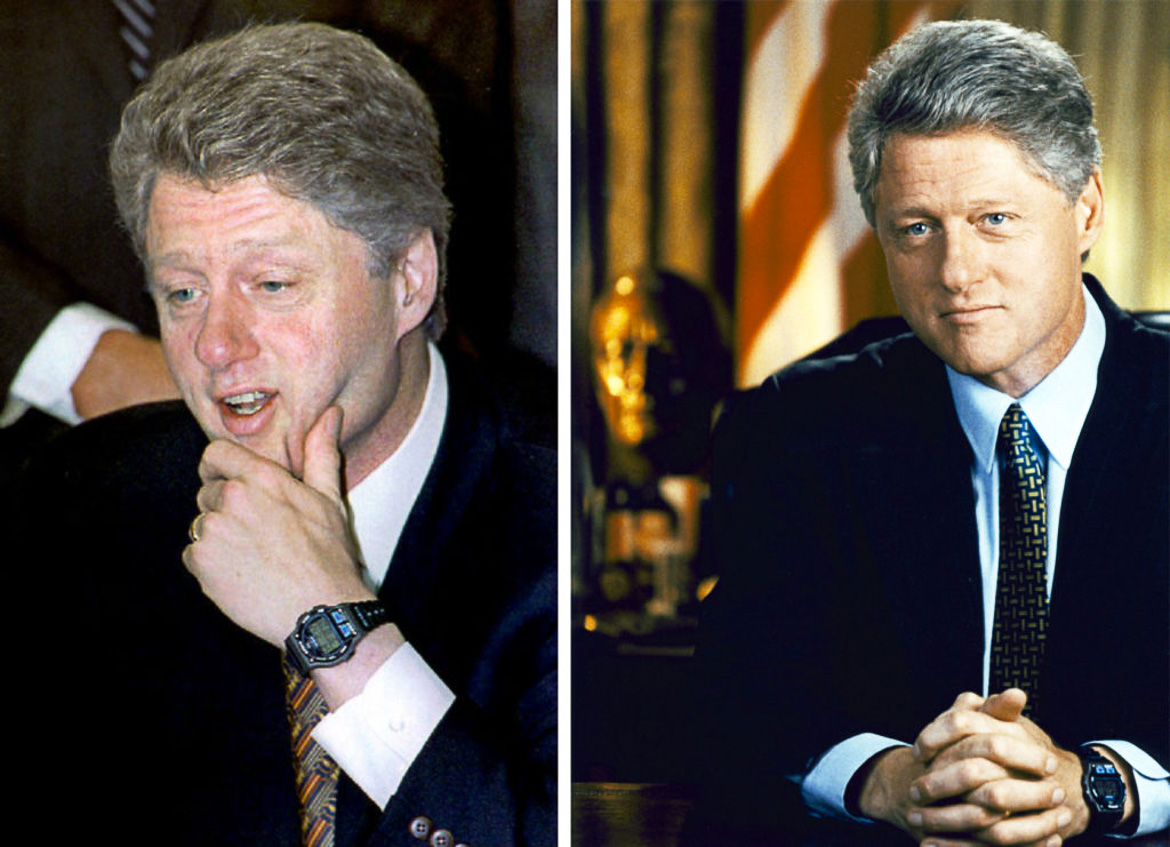 bill clinton timex