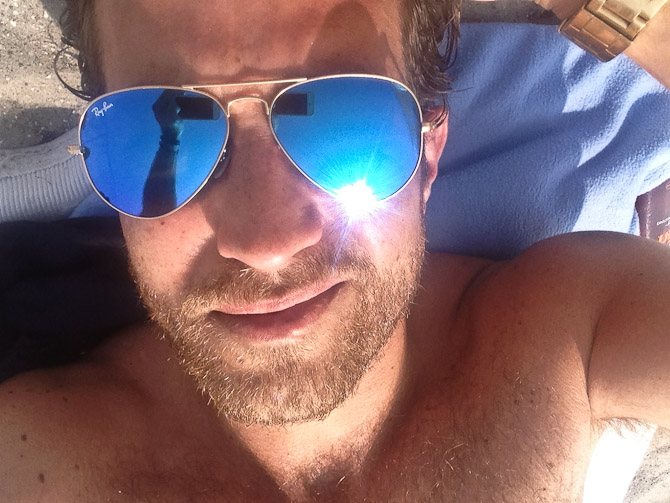Jeg blev begavet med en ny - og særdeles lækker - solbrille