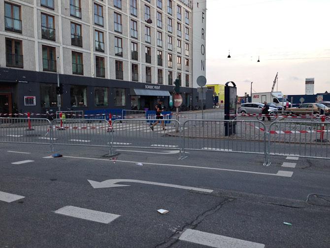 Ironman indtog byen