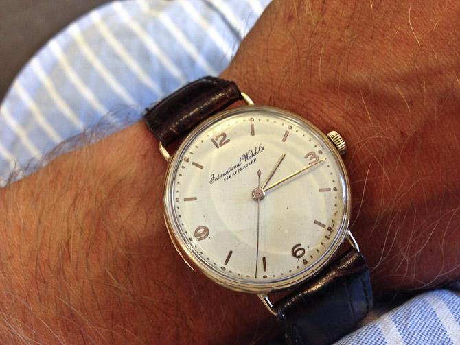 En lækker vintage sag fra International Watch Co. akak IWC blev spottet.