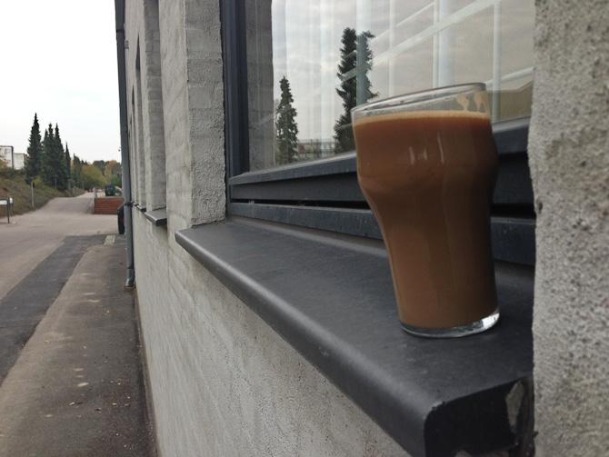 Sålebænk møder kaffe