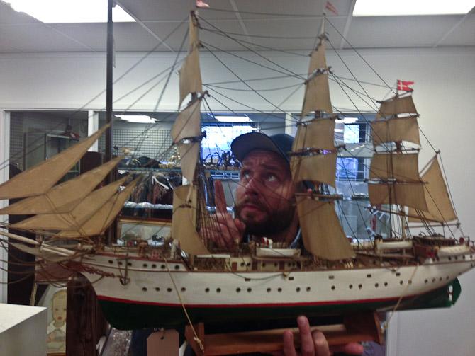 Vigtig-finger, skib og Kavver