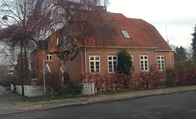Her boede jeg i mine yngste år.