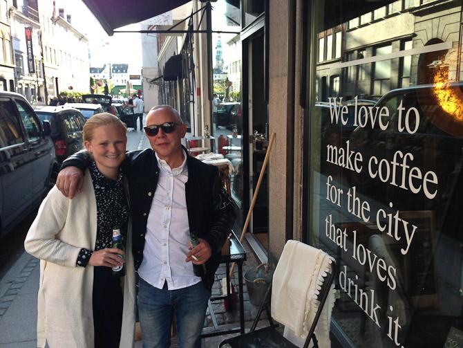 Nanna og Bo i Citys vel nok hyggeligste stræde