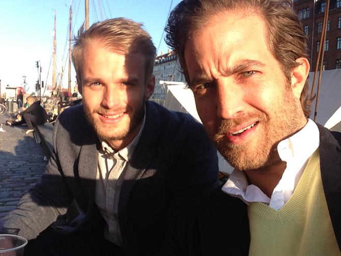 Fætter moment i Nyhavn