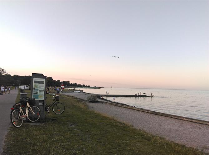Strandskud