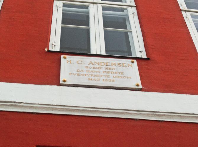 I Nyhavn er der blevet skrevet et og andet