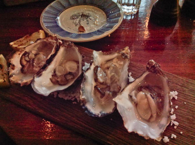Der er kommet østers til Restaurant Kjøbenhavn. Prøv dem.