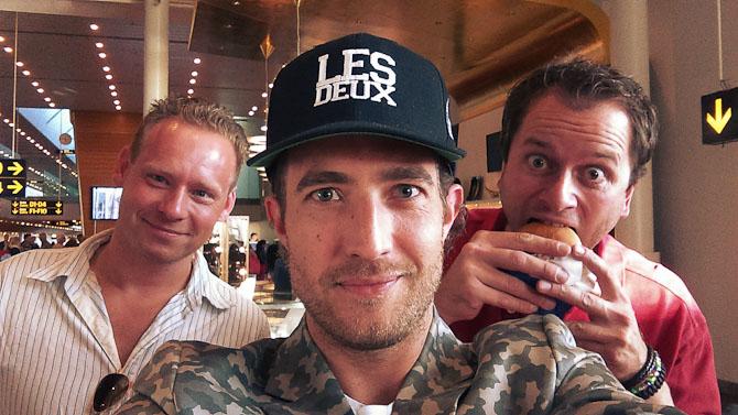 Frande, mig og Anders