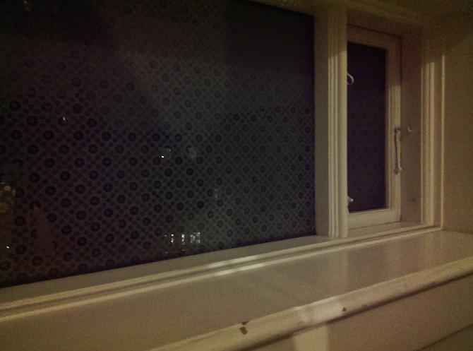 De gamle vinduer har det med at fascinere mig fra tid til anden. Det skyldes nok graveringerne.