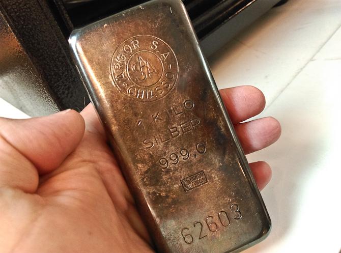 Et kilo sølv