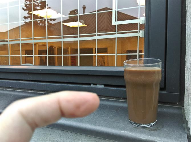 Krummerik og kaffe