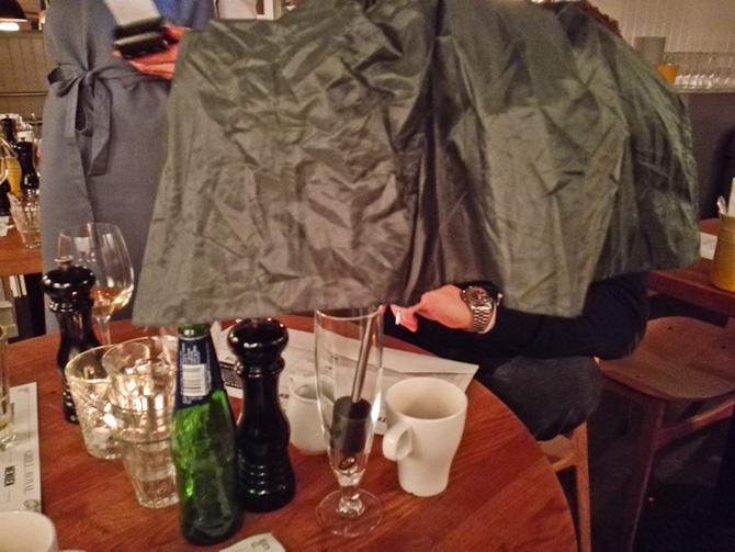 En drink med en paraply