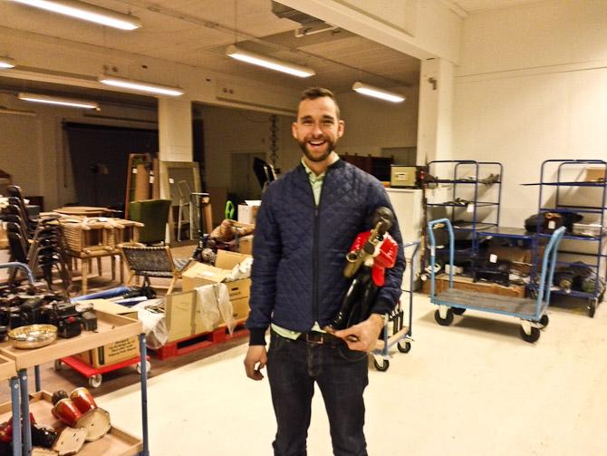 Nils med en... figur