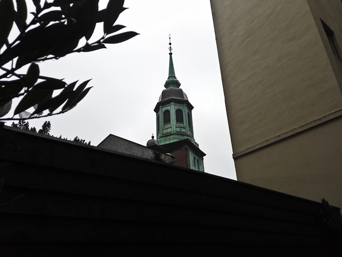 Et tårn i det halv-fjerne