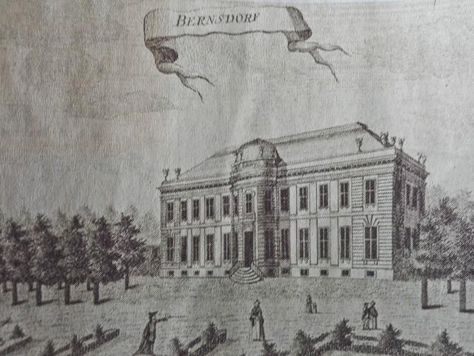 Bernstorff slot anno herre gamle dage