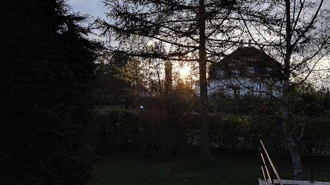 Mere sol. Vistnok også en nedgang