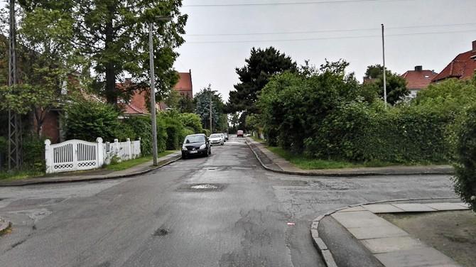 Dagen derpå - våd asfalt på Amager