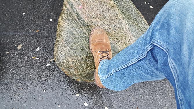 Flashing af semi-nye-støvler