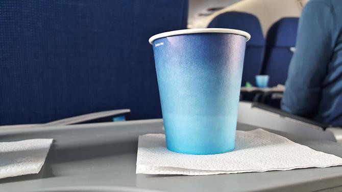 Flyvende kaffeskud