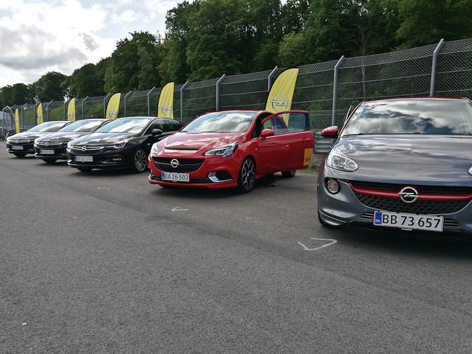 Et flot line op fra Opel