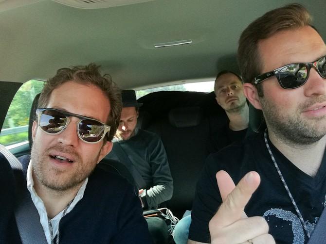 Tobias, Jonathan og Anders