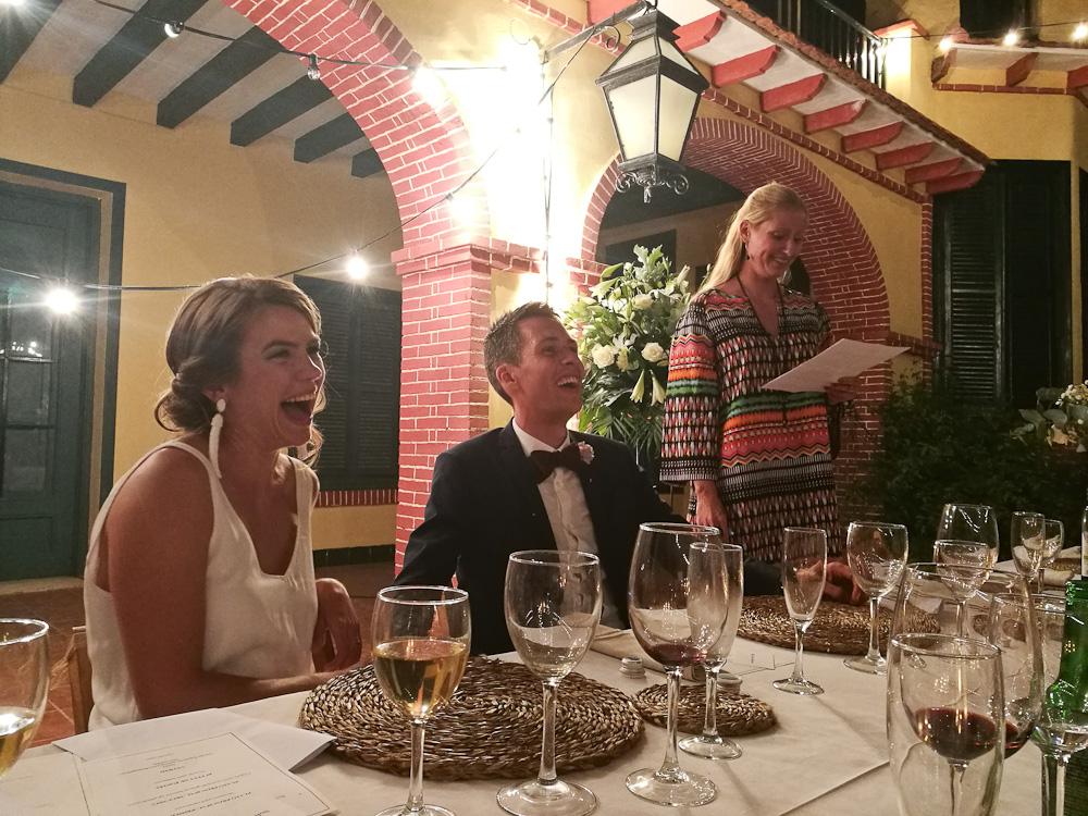Brudepar og sublim toastmaster