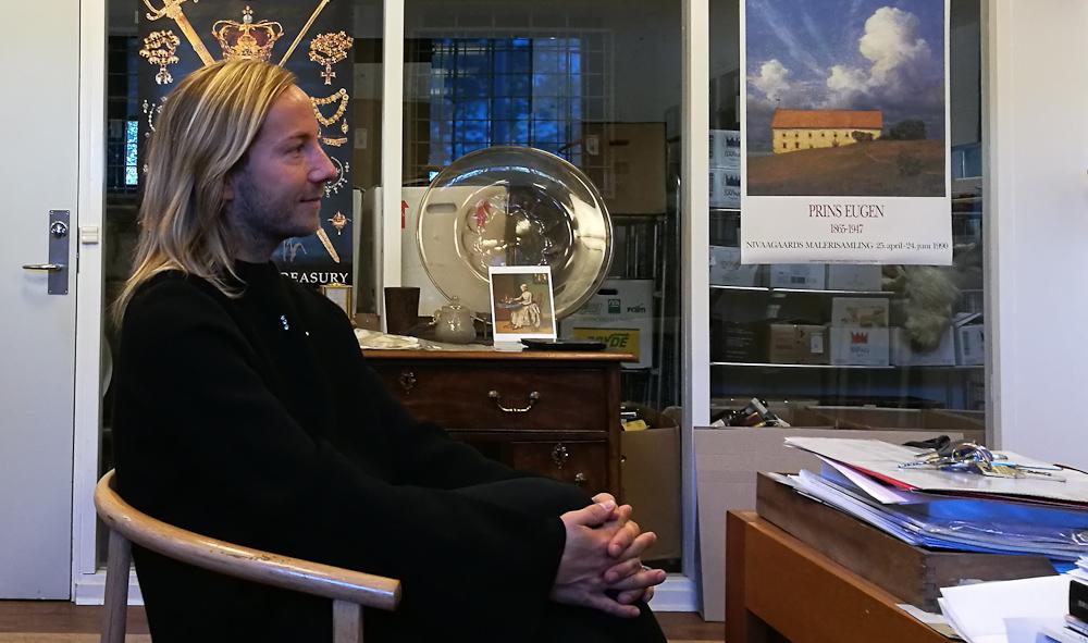 Von Jørgen havde taget en flot krone på