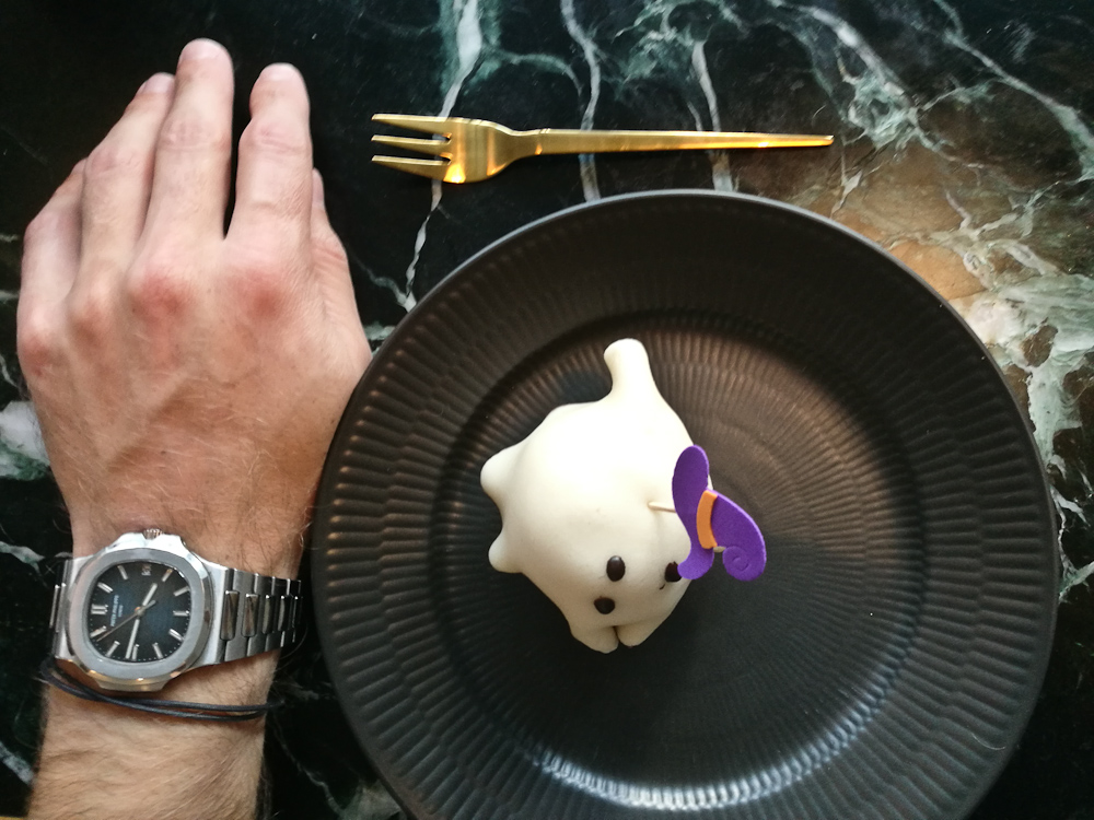 Spøgelseskage og gylden gaffel