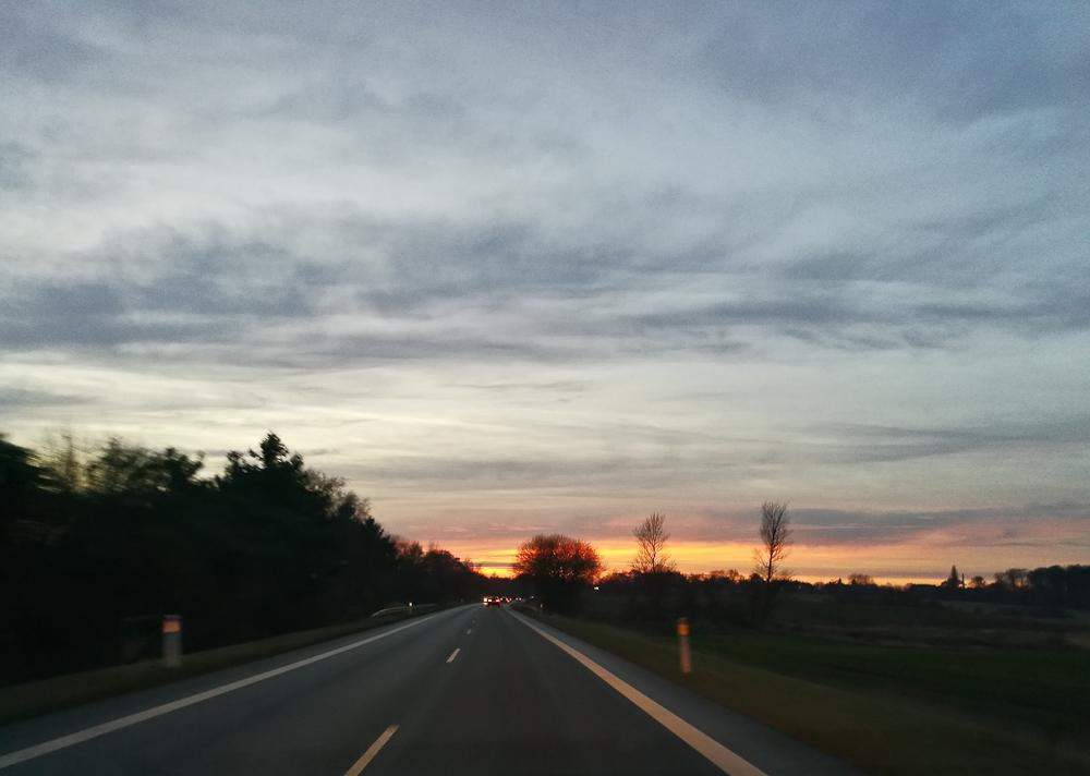 Nordpå henved eftermiddagen